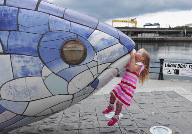 Belfastissa lasten kanssa