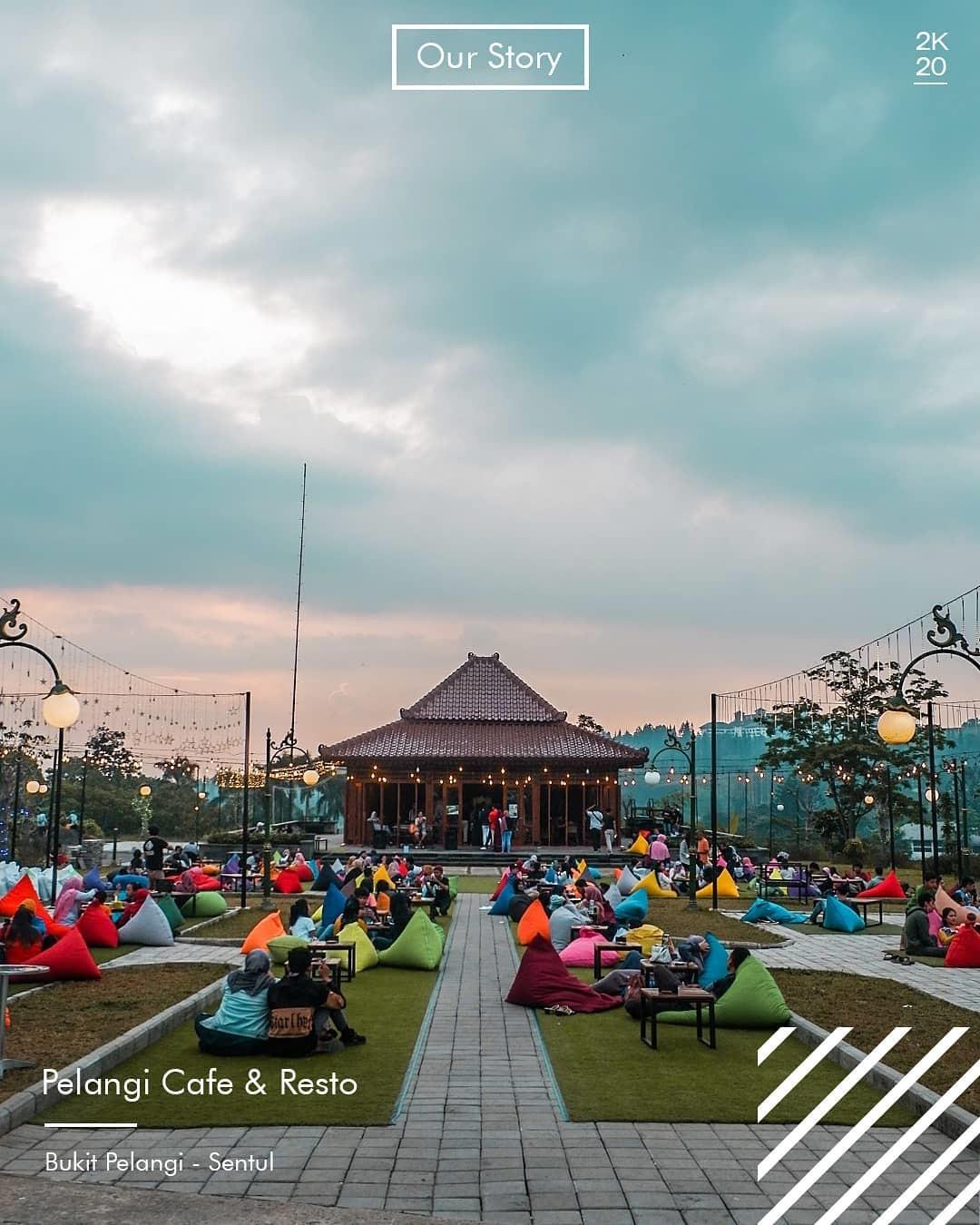 Cafe Pelangi Gunung Geulis Bogor
