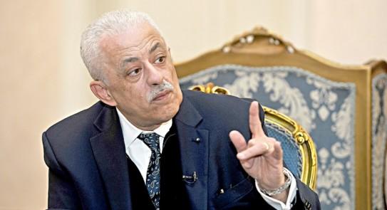 عاجل رد وزير التعليم علي سقوط السيستم اليوم