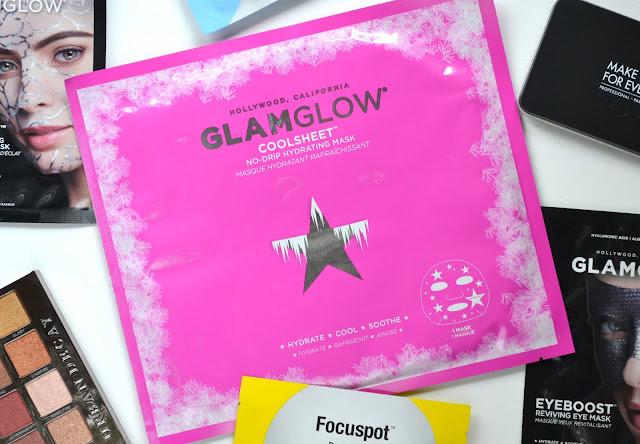 GLAMGLOW COOLSHEET No Drip Hydrating Sheet Mask