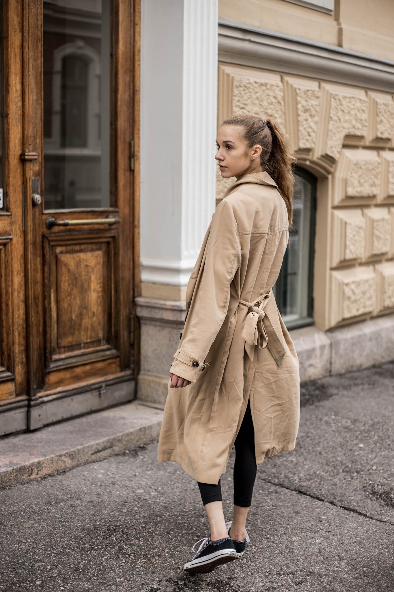 Kuinka pukea leggingsit arkena // How to war leggings in everyday life