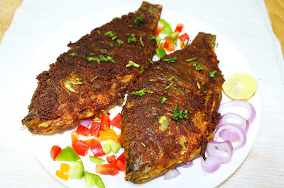 fish fry restaurant style crispy tasty in each bites fish fry recipe fried fish kerala fish fry  pan fried fish