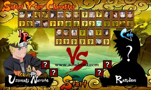 Versi terbaru dari game Naruto Senki Mod  Download Naruto Senki OverSad V1 Fixed Apk by MIA