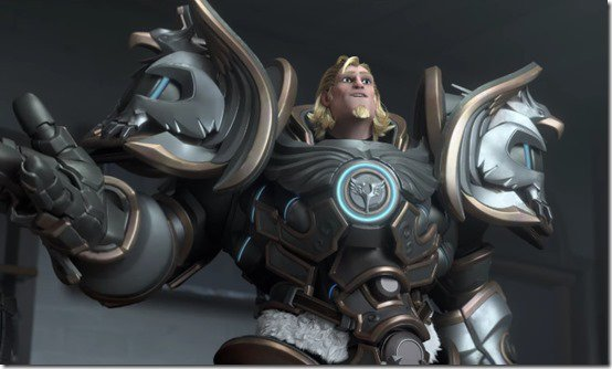 """Overwatch : knight Reinhardt Gets  Animated Short """"Honor and Glory"""" ."""