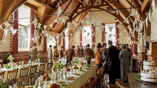 Downton Abbey Wedding of Carson and Mrs. Hughes