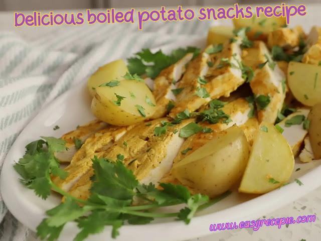Make these 4 delicious boiled potato snacks recipe at home