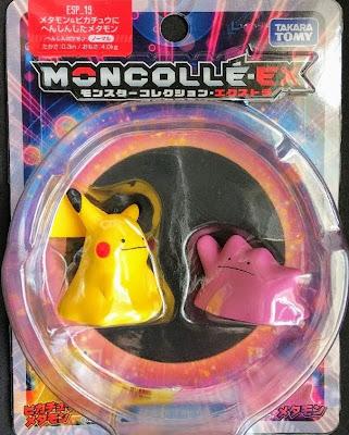 Ditto & Dittopchu figures set Takara Tomy Moncolle EX ESP_19