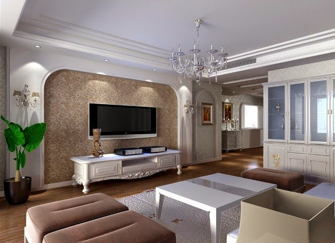Wall paint color schemes for living room wall painting - Living room paint colour ideas 2015 ...