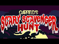Check out Garfield's Scary Scavenger Hunt both one and two By #JimDavis! #HalloweenGames #SpookyGames