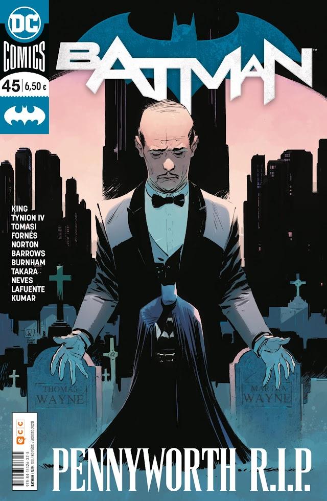 Batman número 100/45: Pennyworth R.I.P. La Crítica