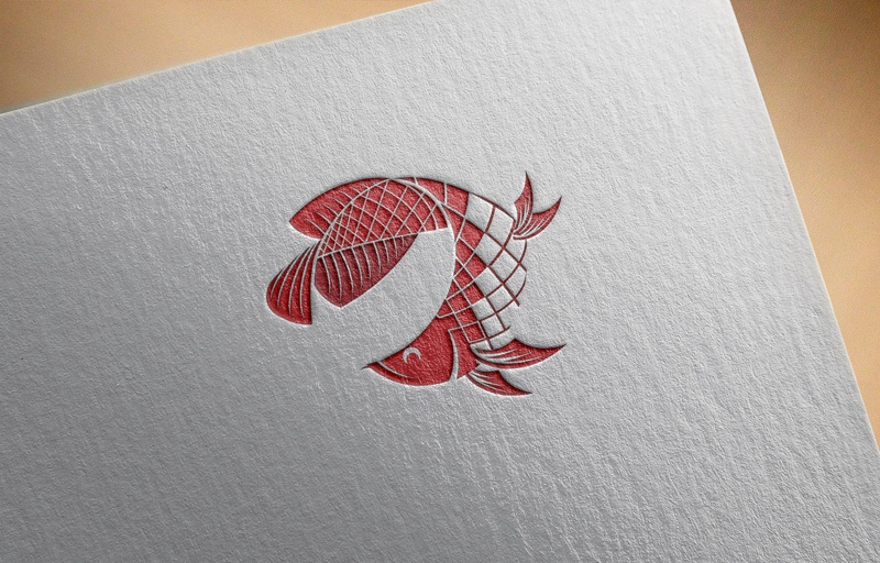 Download Free Red Fish Logo for Business