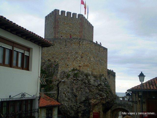 Castillo del rey, San Vicente de la Barquera, Cantabria