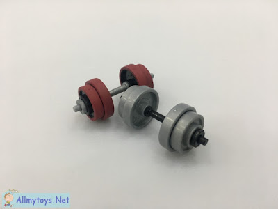 Miniature Toy Gym Barbell 2