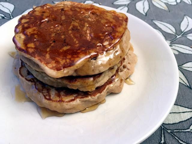 Tortitas rellenas de Nutella (Nutella pancakes)