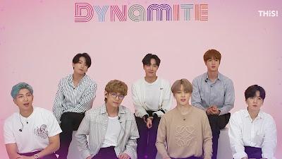 Lirik Lagu Dynamite ( BTS ) Dan Terjemahan