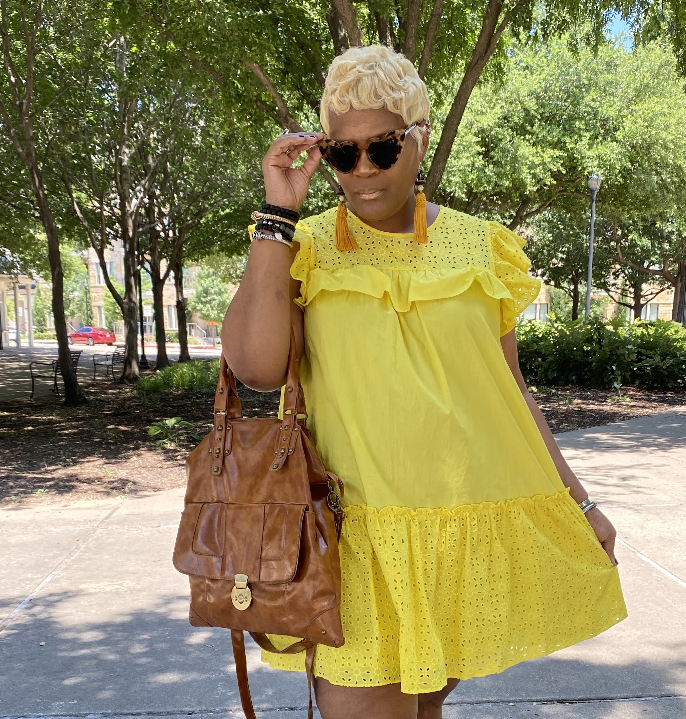 A Yellow Midi Dress That Looks A Mess On Me: Please Judge My Style!