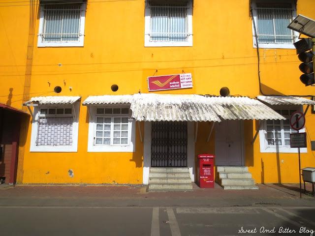 Yellow Post Office, Moti Daman