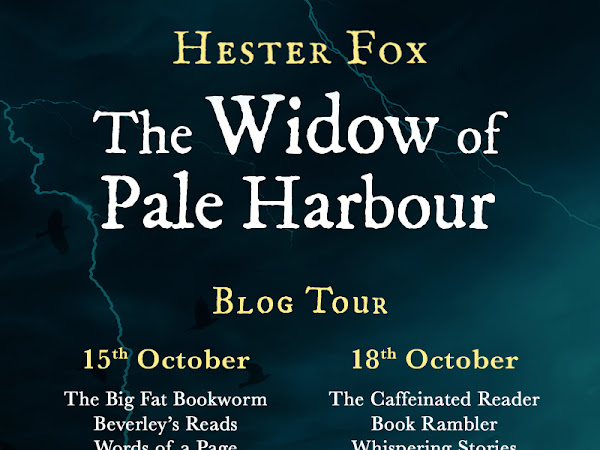 AD The Widow Of Pale Harbour Blog Tour   Hester Fox's Latest Book   Another Release From Harper Collins.   Why I Love To Read For My Mental Health