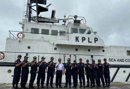 Hubla Siagakan Kapal Patroli KPLP Amankan Arus Balik Nataru.