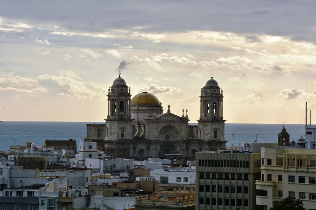 Port of Cadiz cathedral