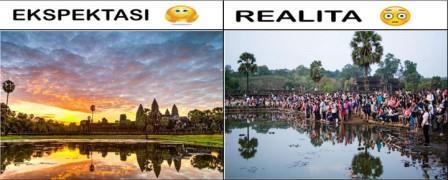 Wisata Dunia Impian - Ekspektasi VS Realita