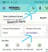 how to do Amazon Pay Later Registration