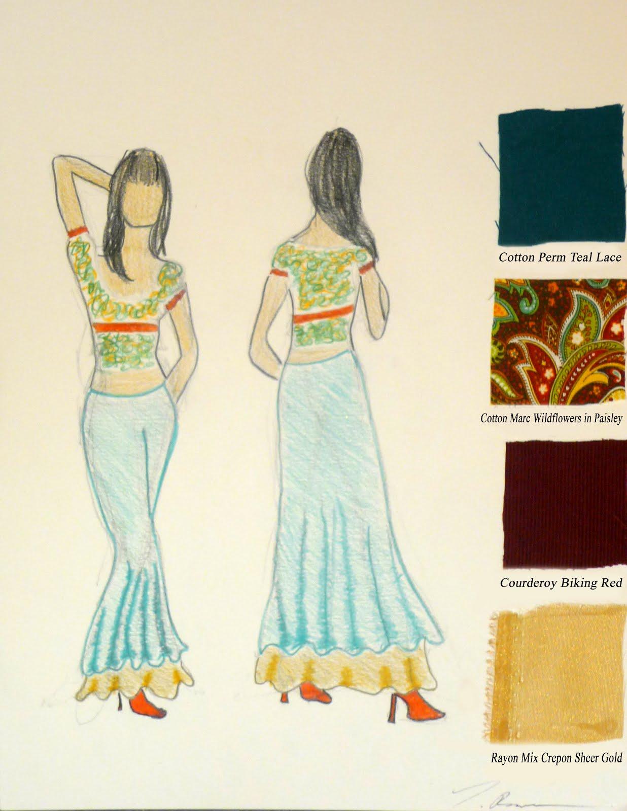 spesso My student's fashion design portfolio   The Rising Leo Art Gallery FV32