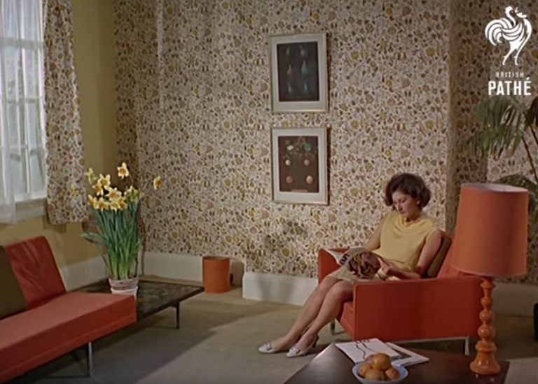 MAKING WALLPAPER IN THE '60S WAS MORE COMPLICATED THAN YOU ...