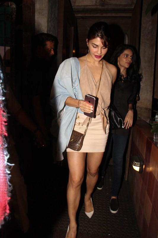 Sidharth Malhotra and Jacqueline Fernandez Spotted at Pali Bhavan
