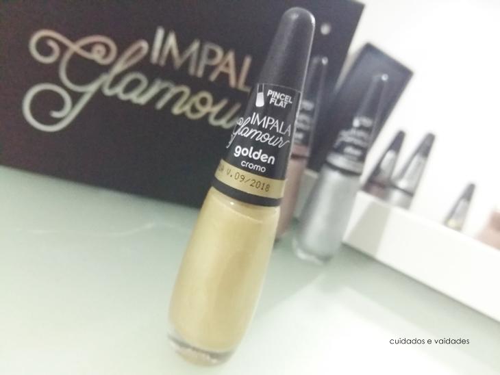 Esmalte Impala Glamour Golden