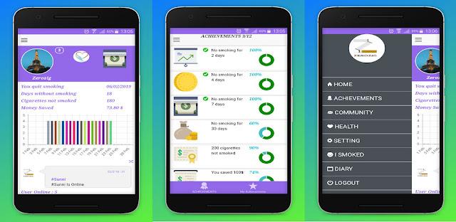 تنزيل تطبيق  Quit Smoking 3.2.7 - تطبيق تتبع الاقلاع عن التدخين على هواتف الاندرويد