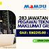 283 Jawatan Kosong Pegawai Teknologi Maklumat Gred F41 (MAMPU). Gaji RM2315.00 - RM9618.00