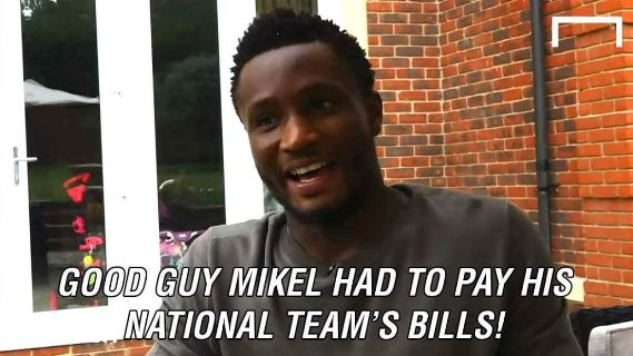Mikel says he spent over $30000 helping to organise logistics at Rio 2016