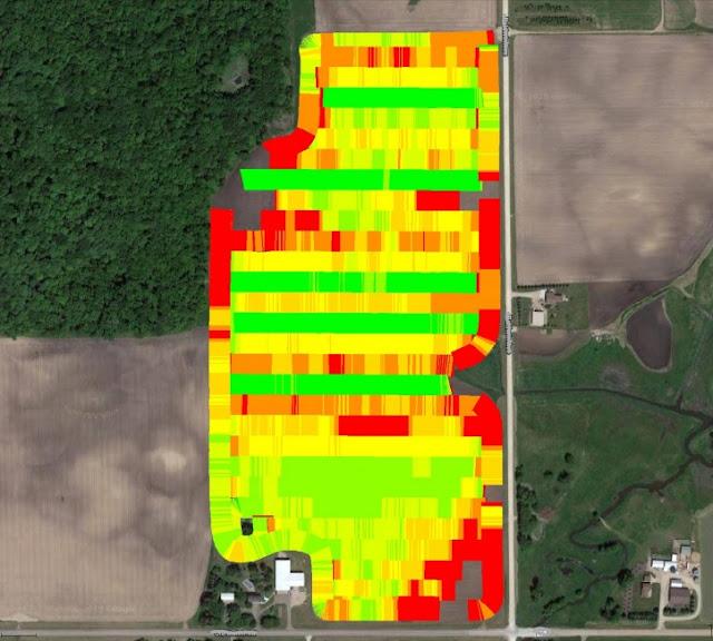 Variable rate nitrogen advisory tools corn fertilizer