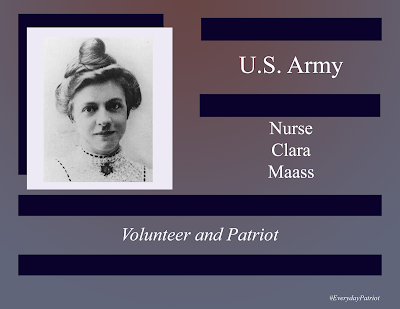 A short biopic of U.S. Army Nurse Clara Maass. Spanish American War Volunteer.