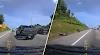 (Video) 'Tudia gila punya laju!' - Driver Ford Ranger sondol penunggang motosikal di lebuhraya