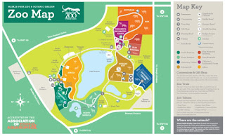 Mesker Park Zoo map