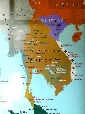 Old Khmer Map