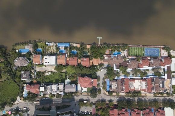 Biệt thự ở Thảo Điền bịt kín lối ra bờ sông Sài Gòn ảnh 8