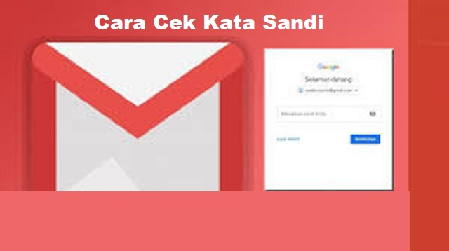 Cara Cek Kata Sandi Email