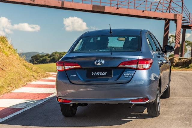 Novo Toyota Yaris 2019