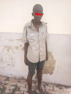 Photos: 14-year-old orphan from Kaduna remanded in prison for 21 days for stealing a grinding machine