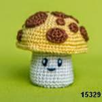 patron gratis hongo amigurumi, free amigurumi pattern mushroom
