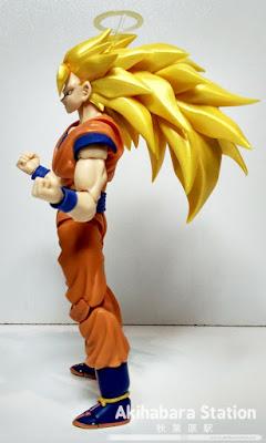 Review del S.H.Figuarts Super Saiyan 3 Son Goku de Dragon Ball Z - Tamashii Nations