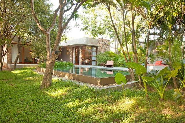 Hôtel Templation à Siem Reap, priorité aux espaces verts