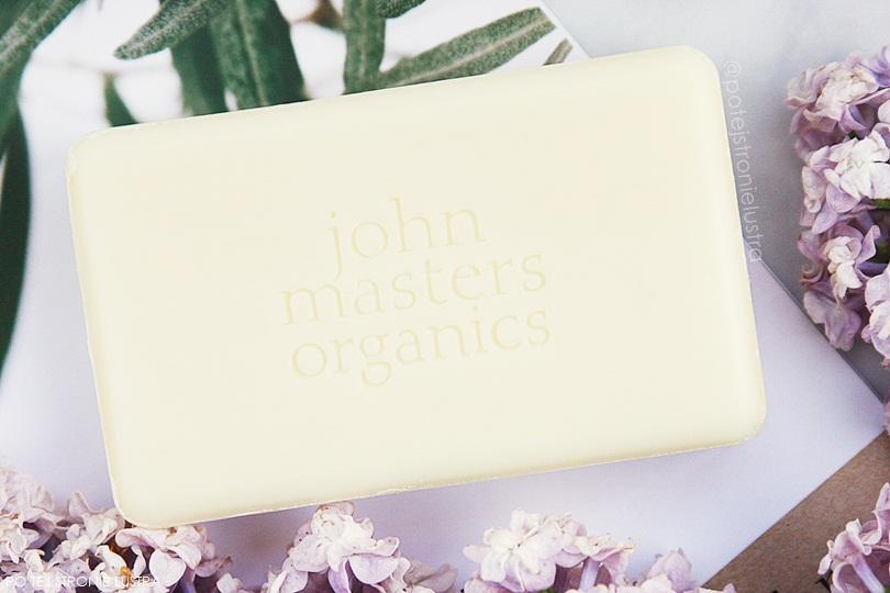 naturalne mydło w kostce john masters organics