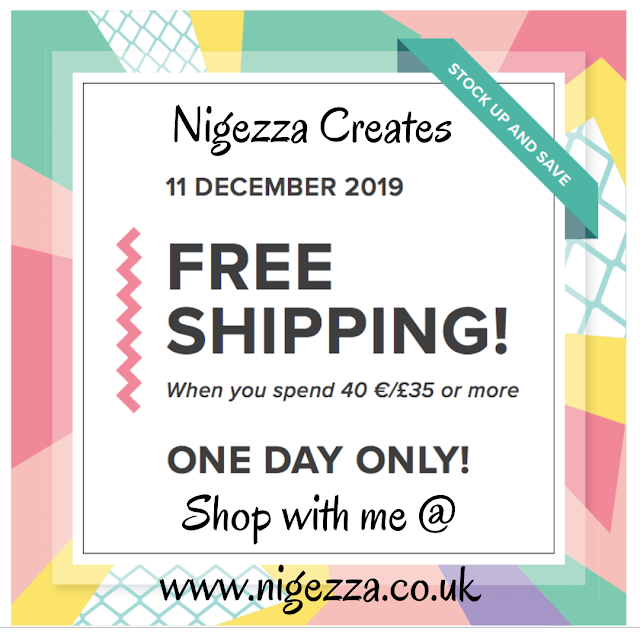 Nigezza Creates with Stampin' Up! 24 Hr FREE P&P