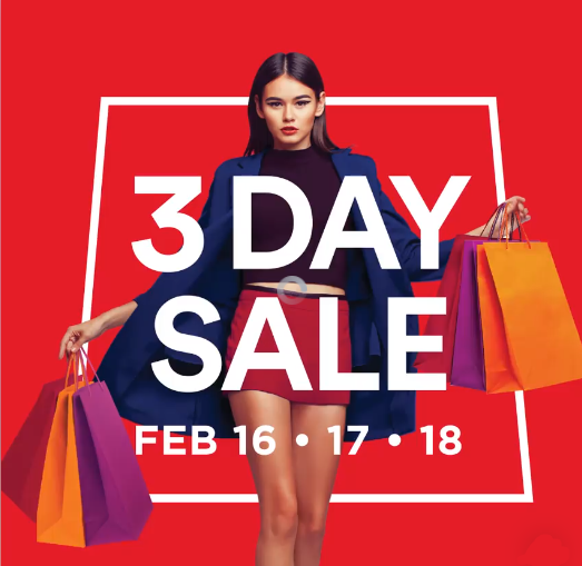 SM 3 Day Sale February 16 to 18 2018 | Pamurahan - Your