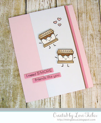 I Need S'more Friends Like You card-designed by Lori Tecler/Inking Aloud-stamps and dies from Lawn Fawn