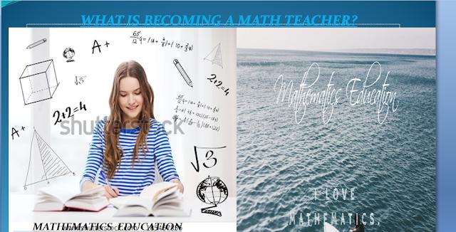 What is Becoming a Math Teacher?